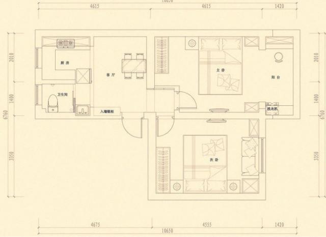 锁金三村2室1厅1卫59平米豪华装产权房1986年建满五年