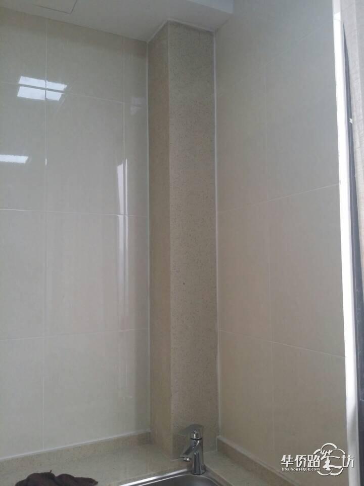 阳台水管装修图片