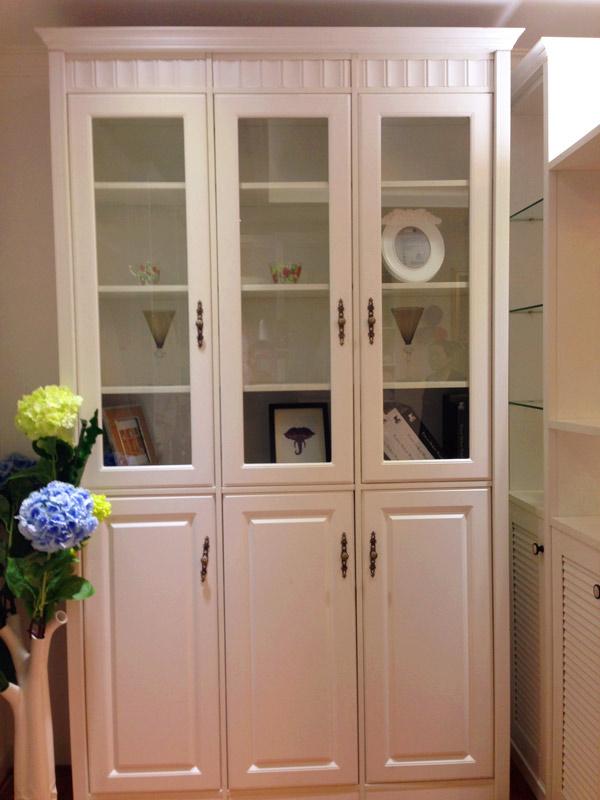 圣象衣柜-欧式书柜图片