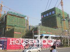 宝龙城市广场工地实景图