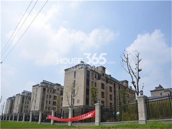 泰州明发国际广场小区实景图