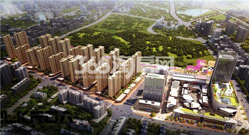 蚌埠新地城市广场效果图