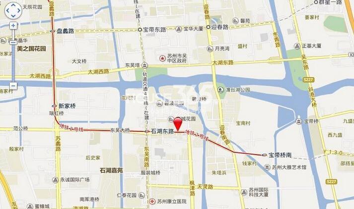 天誉生活广场交通图