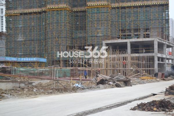 启迪协信无锡科技城工地实景(2015.4)