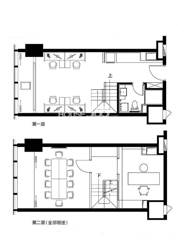 沈阳沿海国际中心53平方米 一室一厅一卫一厨