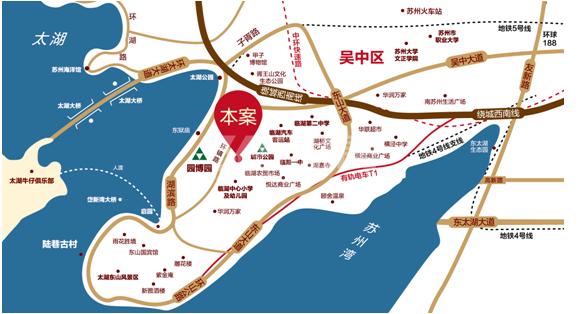 绿地博墅交通图