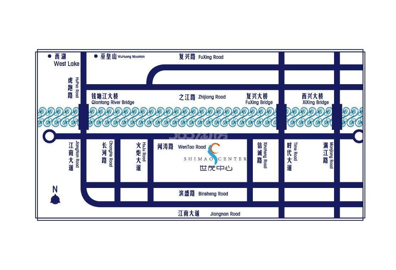世茂中心交通图