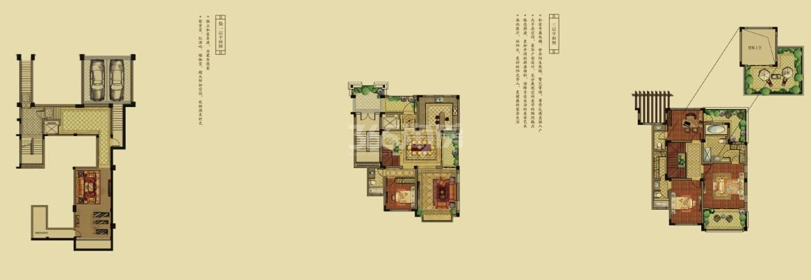 高科荣境C叠加别墅户型图