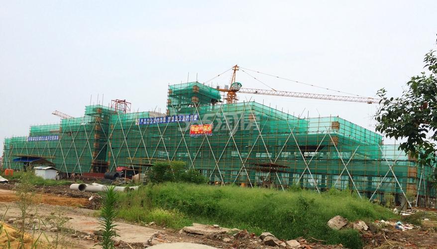 东方蓝海工程进度(2015年8月摄)