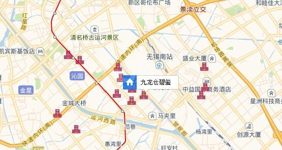 九龙仓碧玺交通图