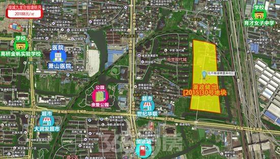 江苏新城30号地块交通图