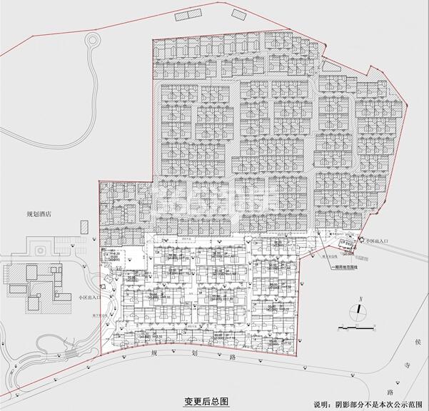 绿城南京桃花源规划平面图