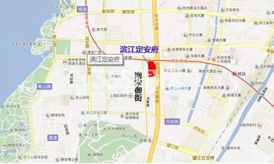 滨江定安府交通图