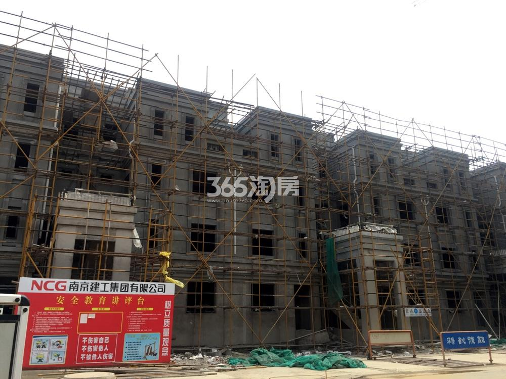 银亿东城12街楼栋实景图(5.20)