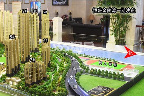 恒盛金陵湾项目实景图(8.18)