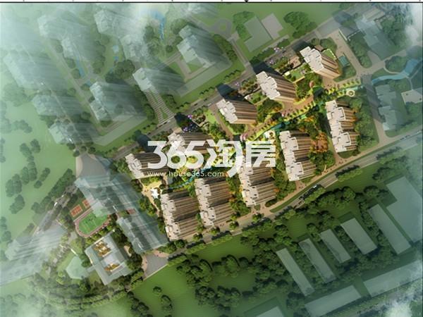 天昱凤凰城三期鸟瞰图