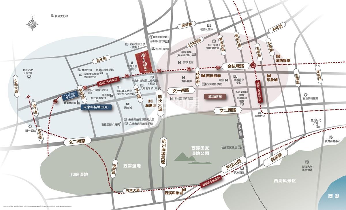 华夏四季交通图