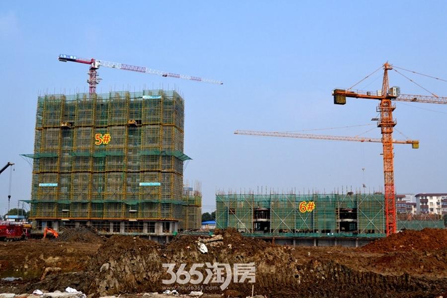 东方蓝海工程进度(2017.2摄)
