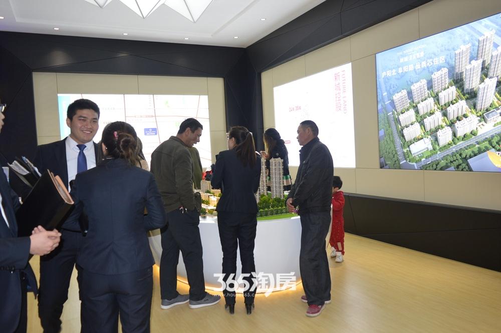 新城北宸紫郡会客厅开放现场(2017.4)