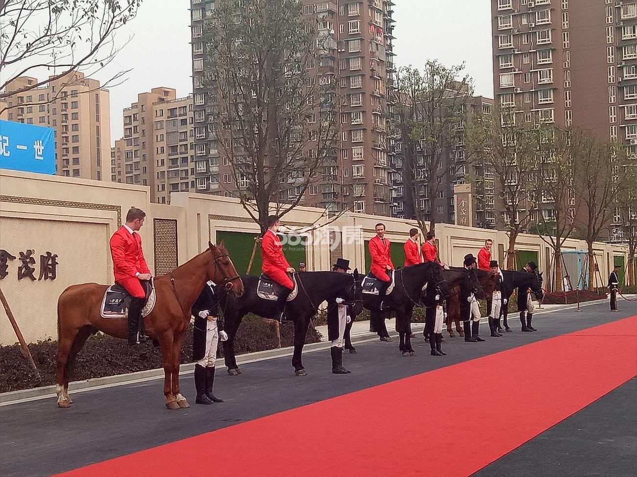 2017.4.15首开杭州金茂府示范区开放现场