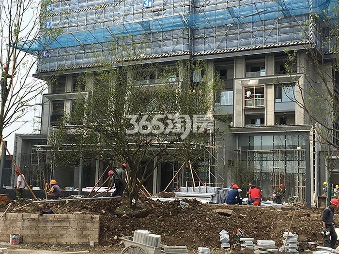 万科西雅图2号楼施工进程(2017.4)