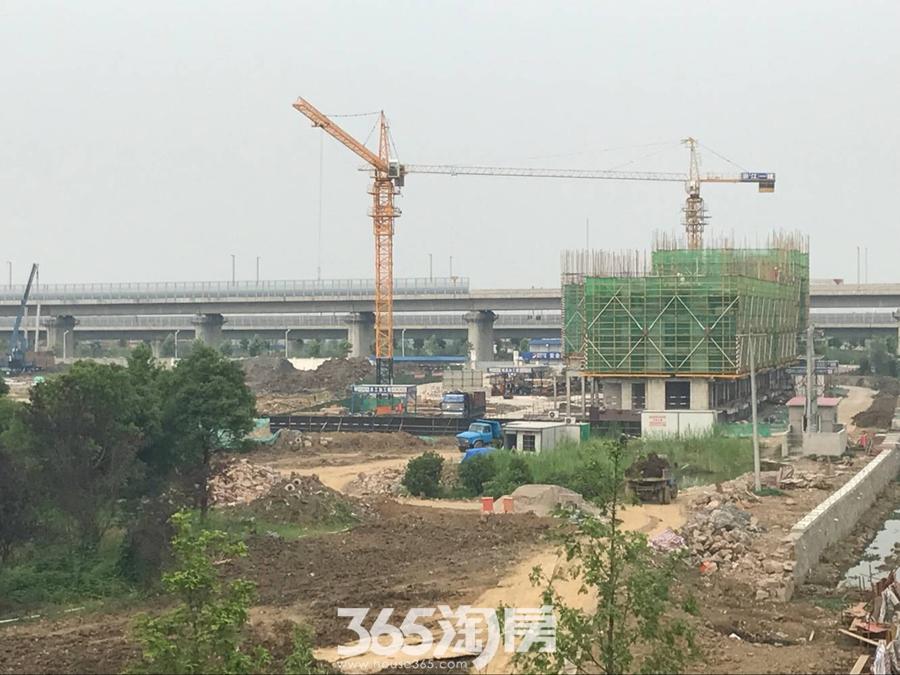高速御府工程进度(2017.05摄)