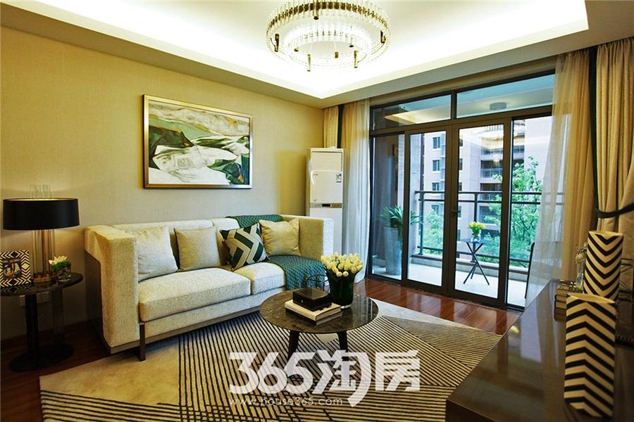 伟星玲珑湾藏岛87㎡样板间—客厅