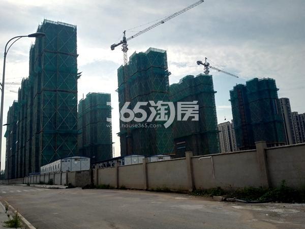 绿地工润和平壹号三期工地实景图(7.19)