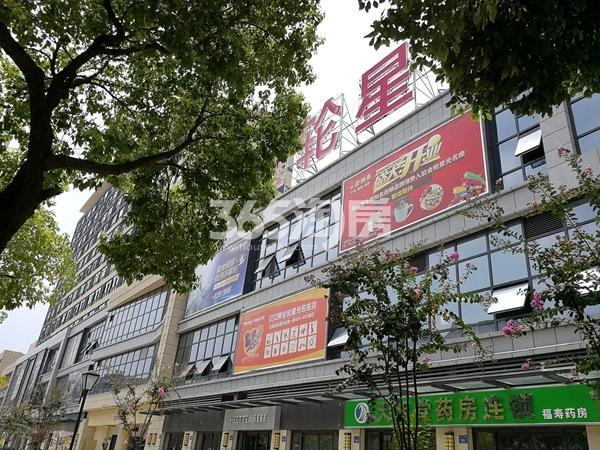 金轮星光名座生活广场沿街商铺实景(2017.9)