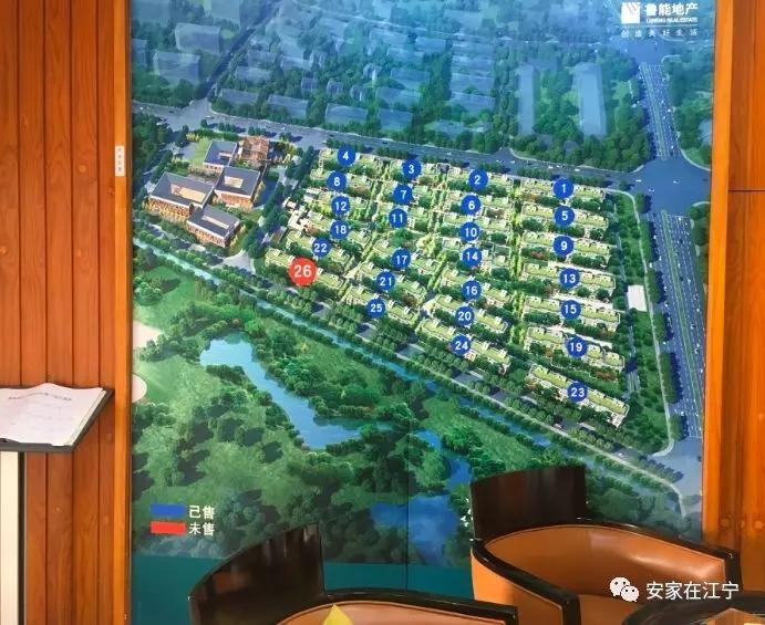 鲁能泰山7号院鸟瞰图