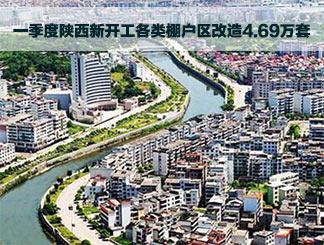 省住建厅:一季度陕西新开工各类棚户区改造4.69万套